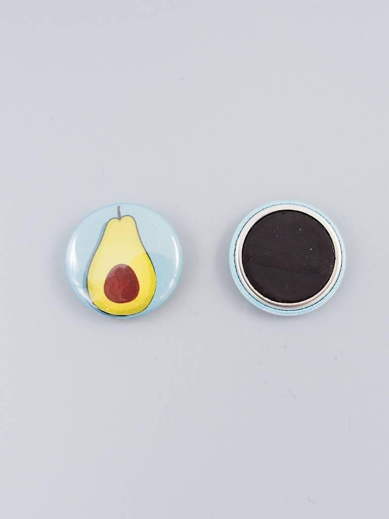 """Avocado 1"""" Magnet"""