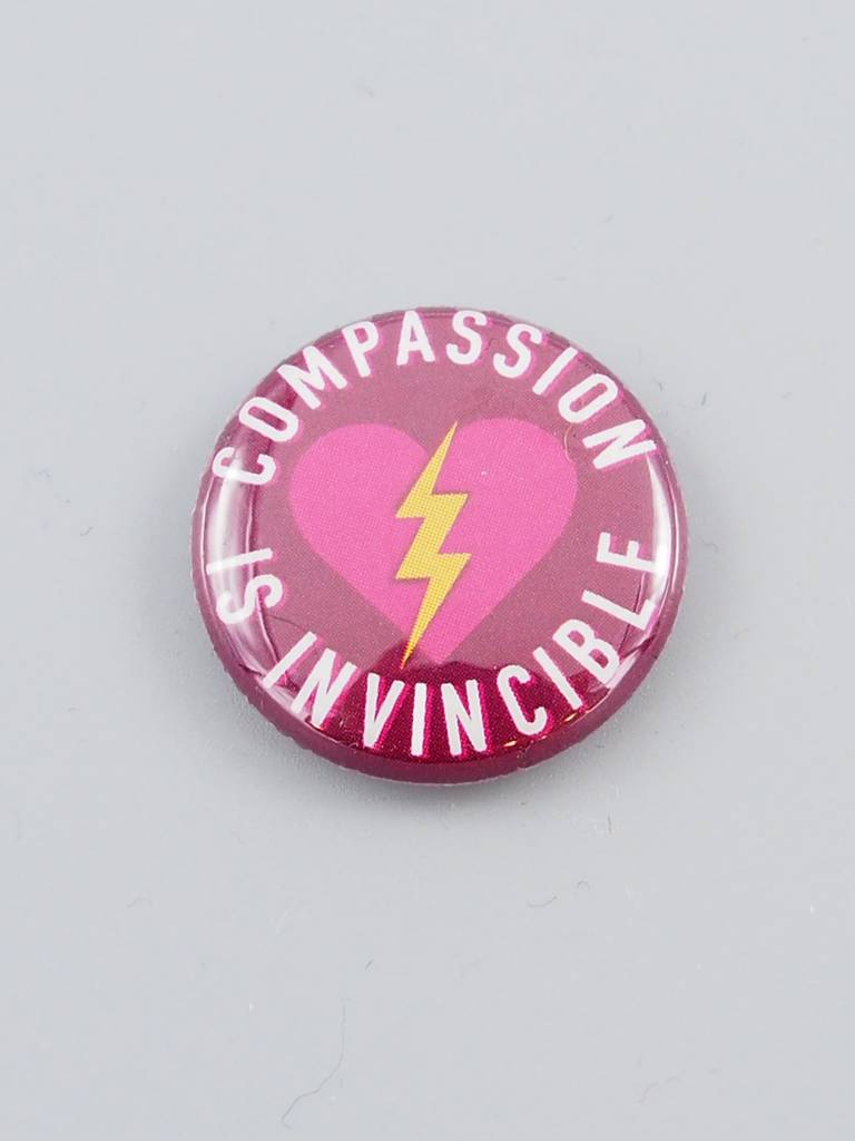 Compassion Is Invincible Bolt Button