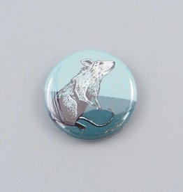 Love Life Rat Button