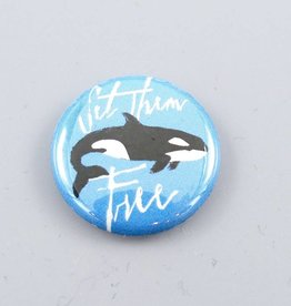 Set Them Free Orca Button