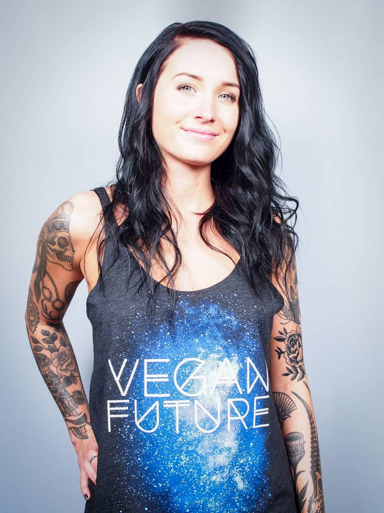 Vegan Future Galaxy Slouchy Tank