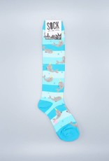 Lil' Narwhal Unicorn of the Sea Knee Sock from Sock it to Me
