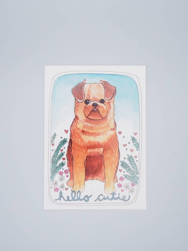 Hello Cutie Card