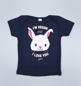 I'm Vegan and I Love You Bunny for Kids and Babies 12-18M