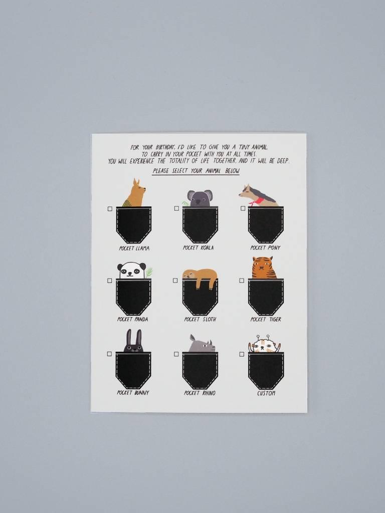 Pocket Animals Card