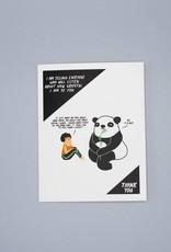 Grateful Panda Card