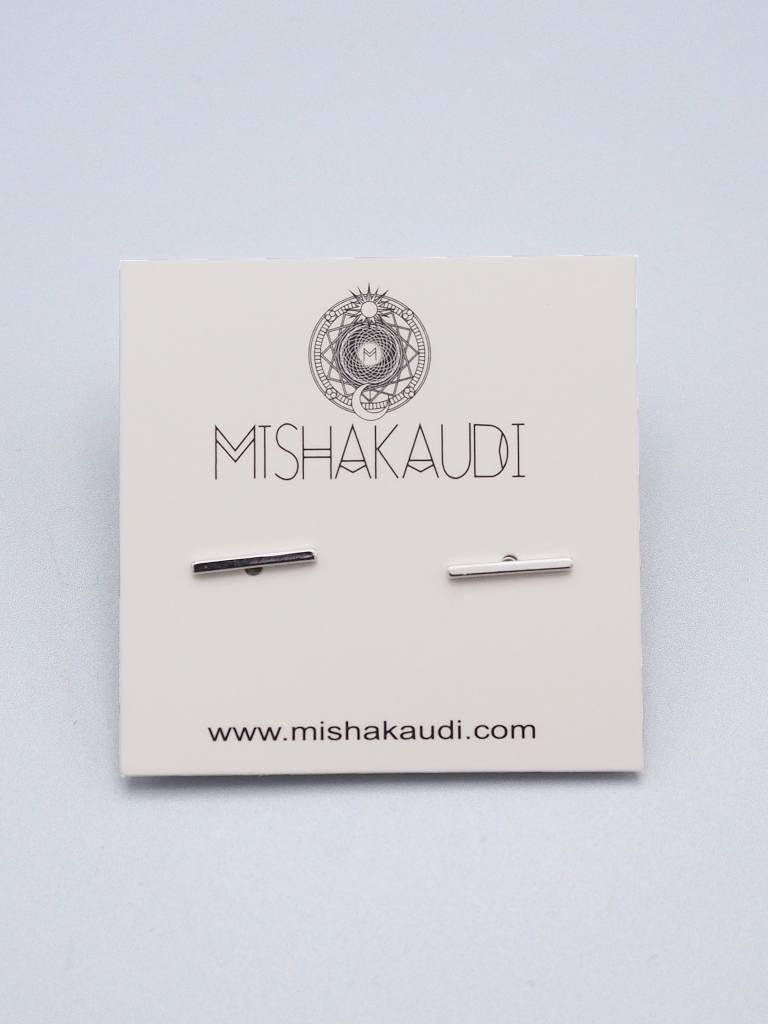 Bar Post Earring by Mishakaudi