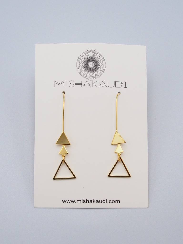 Reeki Earrings by Mishakaudi