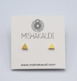Triangle Post Earring by Mishakaudi