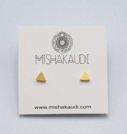 Triangle Post Earring by Mishakaudi