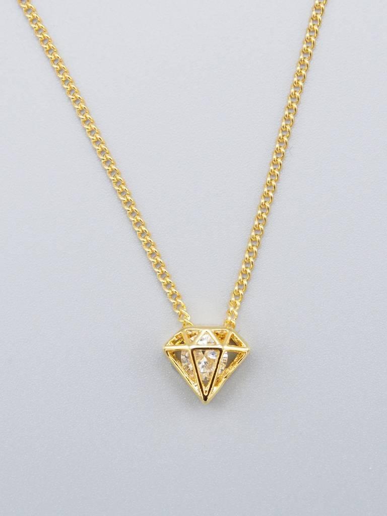 Diamond Necklace by Mishakaudi