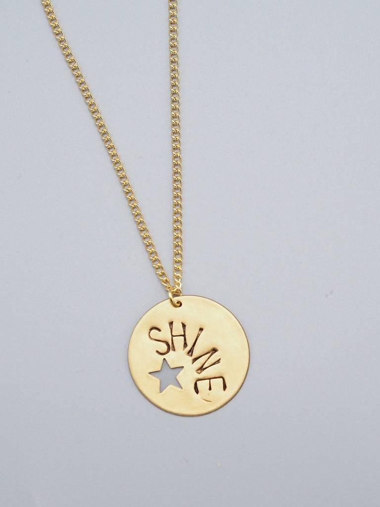 Star Shine Necklace by Mishakaudi