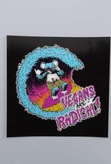 Vegans Are Radical Sticker