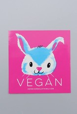 Vegan Bunny Sticker