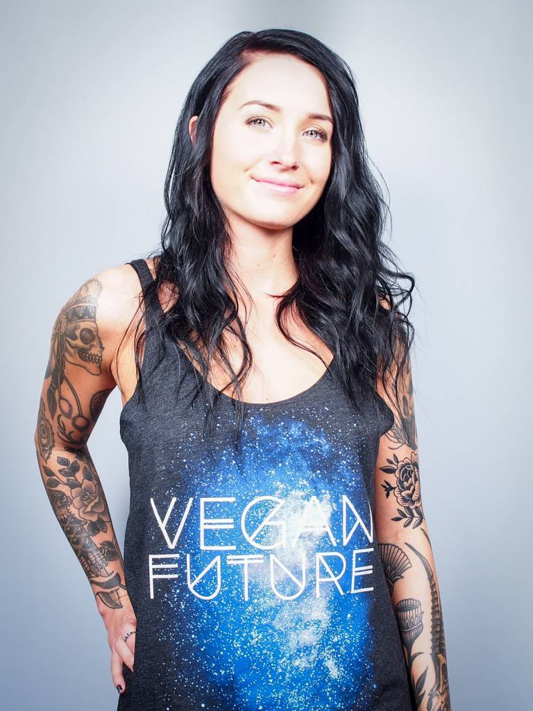 Vegan Future Slouchy Tank Top ON SALE for $25!