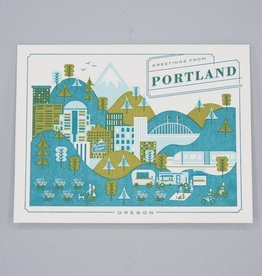 Visit Portland Oregon Card