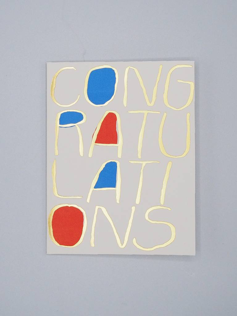 Big Congratulations Card