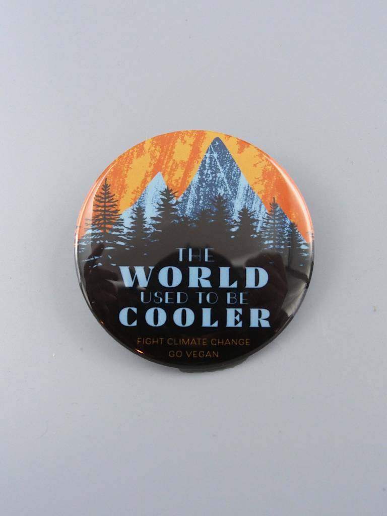 "The World Used to be Cooler 3"" Magnet"