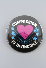 "Compassion Is Invincible Arrow 3"" Magnet"