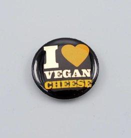 I <3 Vegan Cheese Button
