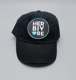 Herbivore Circle Black Dad Hat