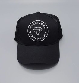 Unbreakable Black Eco-Snapback Hat
