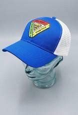 Animal Rights, Social Justice, Vegan Pizza Royal Blue Eco-Snapback Hat