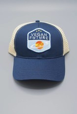 Vegan Future Navy Eco-Snapback Hat