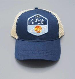 Vegan Future Navy Eco-Snapback Hat