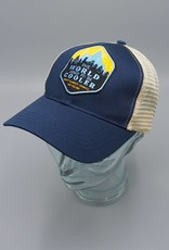 The World Used to be Cooler Navy Eco-Snapback Hat