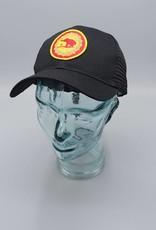 Good Luck Elephant Black Eco-Snapback Hat