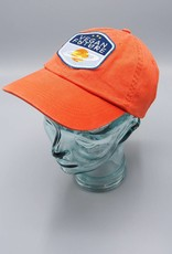 Vegan Future Orange Dad Hat