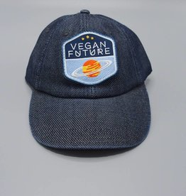 Vegan Future Denim Dad Hat