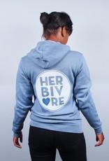 Herbivore Circle Zip-Up Hoodie