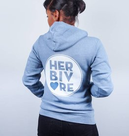 Herbivore Circle Zip Up Hoodie