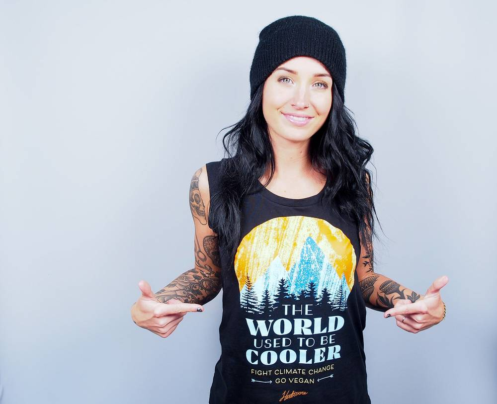 This week, our The World Used To Be Cooler Cap Sleeve Tank is on sale for $25!