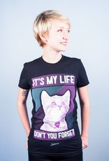 It's My Life Cat Women's Tee