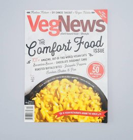VegNews Magazine The Comfort Food Issue
