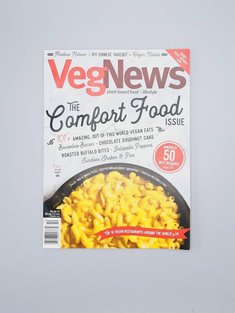 VegNews Magazine The Comfort Food Issue