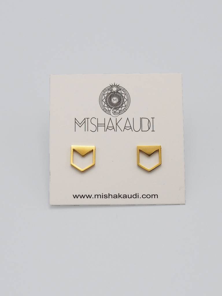 Cadet Post Earring by Mishakaudi