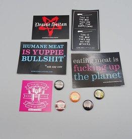 Be Bold Sticker/Button Set!