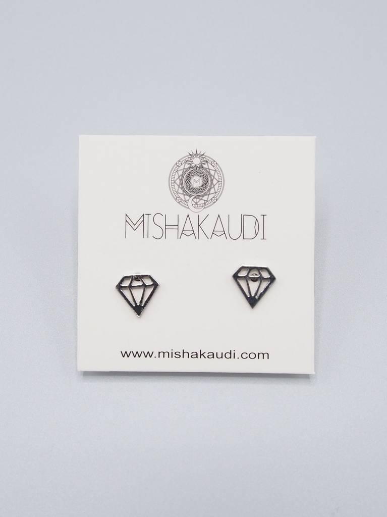 Diamond Earrings by Mishakaudi