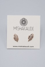 Feather Earrings by Mishakaudi