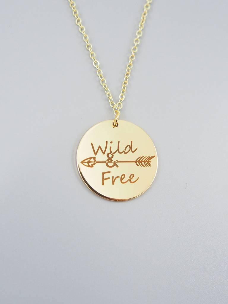 Wild & Free Necklace by Mishakaudi
