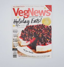 VegNews Magazine  Holiday Eats! November/December 2017