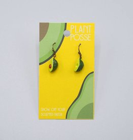 Plant Posse Small Avocado Earring