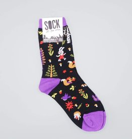 Forest Friends Women's Crew Sock from Sock it to Me