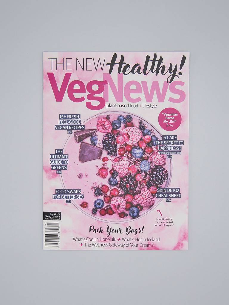 VegNews Magazine Jan/Feb 2018 Issue