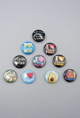 What We Love Button Set