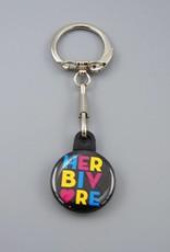 Herbivore Circle Key Chain